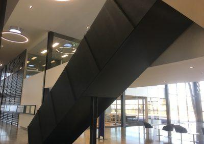 custom steel fabrication stairs