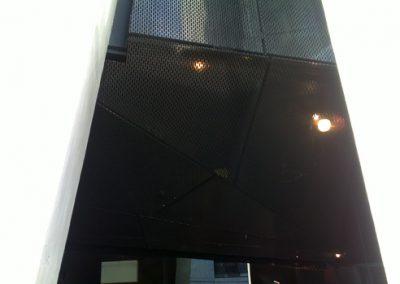 decorative steel screen fabrication
