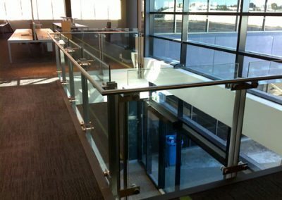 glass and steel balustrades melbourne