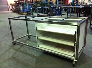 outdoor kitchen steel fabrication