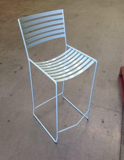 outdoor steel furniture fabrication