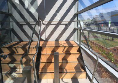 polished steel balustrade melbourne