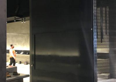 steel fabricated door