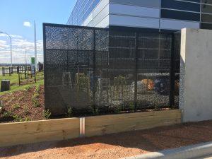 steel fabrication melbourne, steel privacy screen