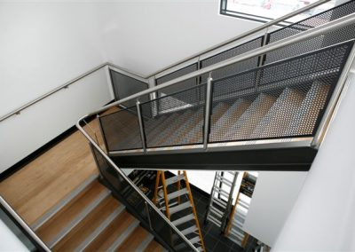 steel stair balustrades