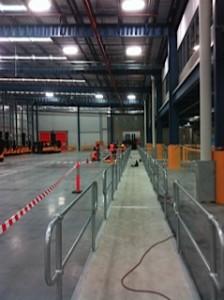 warehouse safety rails melbourne